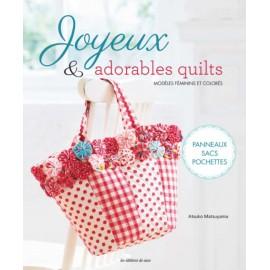 """Livre """"Joyeux et adorables quilts"""""""