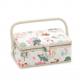 Small Size Sewing Box - Woodland