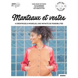 """Livre """"Manteaux et vestes - 4 créatrices 8 modèles"""""""