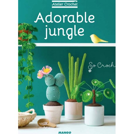 "Livre ""Adorable jungle"""