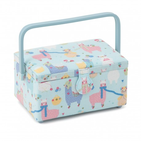 Medium Size Sewing Box - Lama