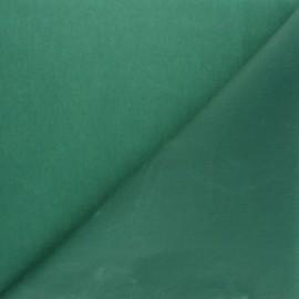Tissu Coton huilé Hunter - Vert x 10cm