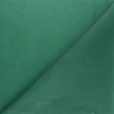 Waxed Cotton Fabric - Green Hunter x 10cm