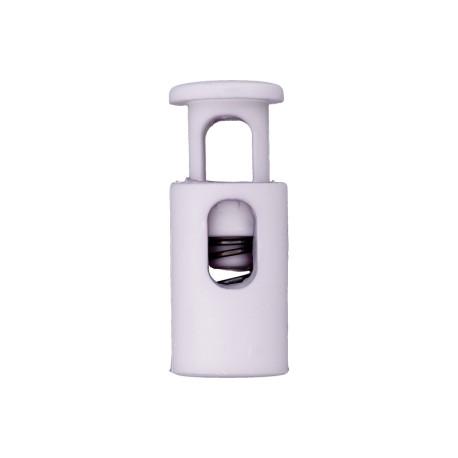 Arrêt Cordon Polyester Recyclé 18 mm Lilas