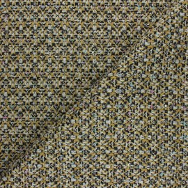 Tissu Tweed Lurex Marta - doré x 10cm