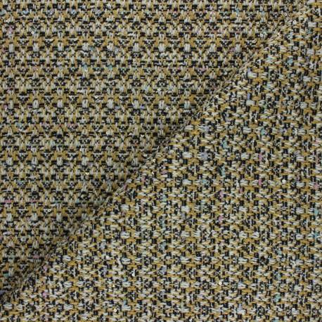 Tissu Tweed Lurex Mayfair - Ecru x 10cm