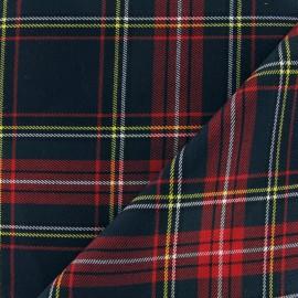 Tissu tartan écossais Vert militaire  x10cm