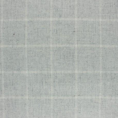 Tissu drap de laine Cambridge - marron x 10cm