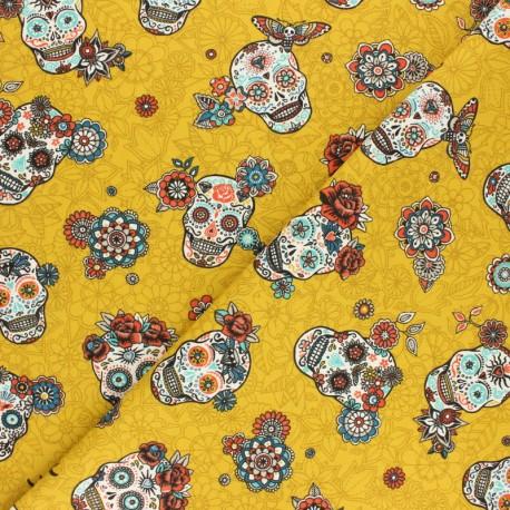 Twill Cotton Fabric Cristobal -curry x 10cm