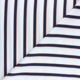 Tissu satin viscose mat Felindra - Blanc x 50cm