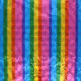 Tissu polyester Holo Disco - multicolore x 10cm
