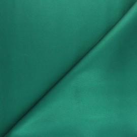 Tissu Simili cuir souple Louxor - vert sapin x 10cm