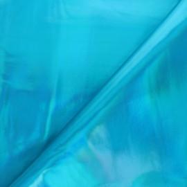 Simili cuir Futurist - bleu x 10cm