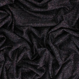 Tissu Maille Lurex Cosmic - Rose x 10cm
