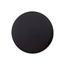 Recycled Plastic Button - Black Odeon