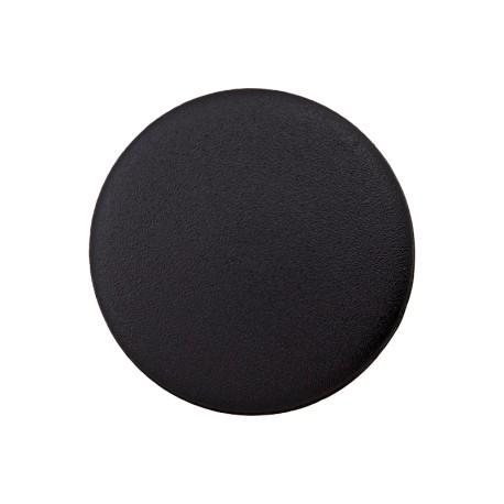 Bouton Plastique Recyclé Odéon - Noir