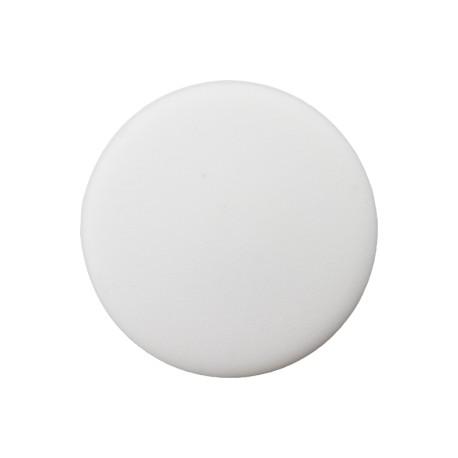 Bouton Plastique Recyclé Odéon - Blanc