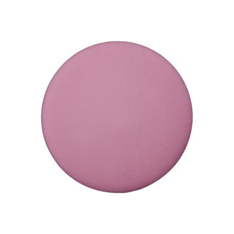 Recycled Plastic Button - Pink Odeon