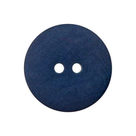 Bouton Corozo Life - Bleu Cobalt
