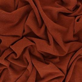 Tissu Maille Lurex Glitter - Brique x 10cm