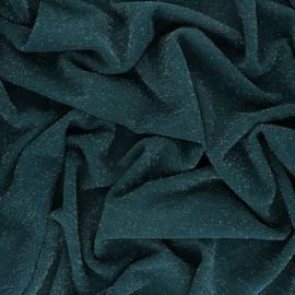 Lurex knitted Fabric Glitter - Burgundy x 10cm