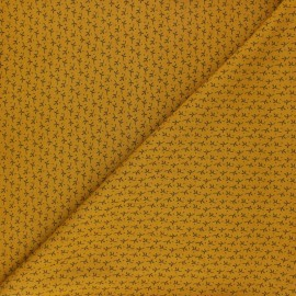 Radiance By Penelope® Viscose fabric - mustard Automne x 10cm
