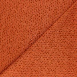Radiance By Penelope® Viscose fabric - red brick Automne x 10cm