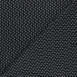 Tissu Viscose Radiance Automne by Penelope® - noir x 10cm