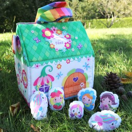 Kid Sewing Kit - Sew-It-Yourself Fairy House