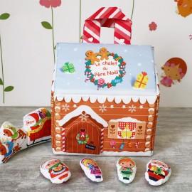 Kit Couture Enfant - Chalet du Père Noël à Coudre