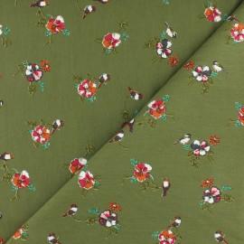 Tissu Modal sweat léger Romance by Penelope® - vert x 10cm