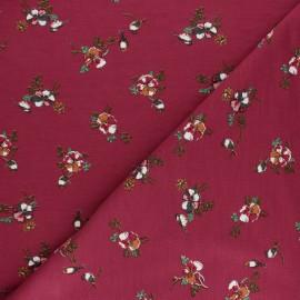 Tissu sweat léger Modal Romance by Penelope® - Bordeaux x 10cm