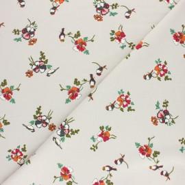 Tissu sweat léger Modal Romance by Penelope® - Gris clair x 10cm