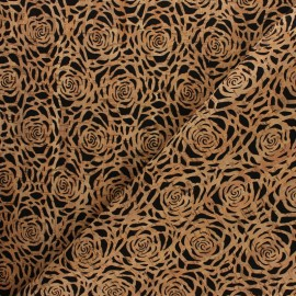 Cork fabric - Rose x 10cm