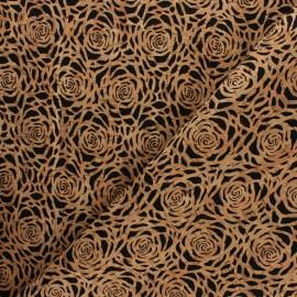 Tissu liège véritable - Rose x 10cm