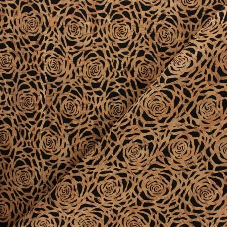 Cork fabric - Rose x 10cm