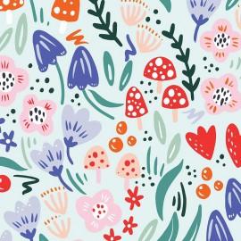 Primrose Fabrics cotton fabric - light blue Magical Night x 10 cm