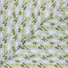 Tissu jersey Poppy Thunderstruck - gris x 10cm