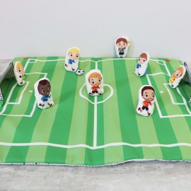 Sewing Kit for Kid - Sew-It-Yourself Soccer Field