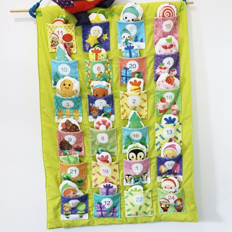 Sewing Kit for Kid - Sew-It-Yourself Advent Calendar