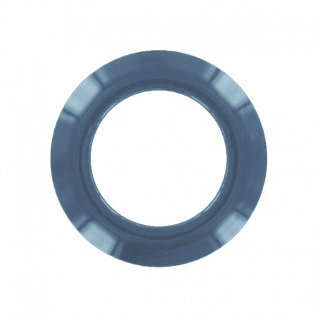 Plastic Eyelet to clip - petrol blue