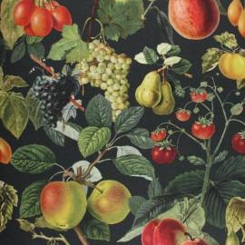 Tissu coton sergé l'Artisan Fromager - beige x 10cm