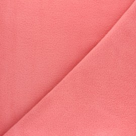 Tissu Polaire uni - vieux rose x 10cm