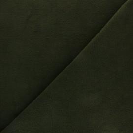 Tissu Polaire uni - vert foncé x 10cm