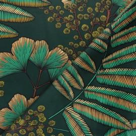 Tissu velours ras Amarinthe - brique x 50cm