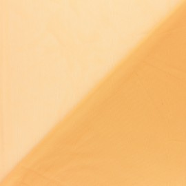 Elastic tulle fabric - nude x 10 cm