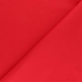 Tissu coton sergé uni - blanc x 10cm