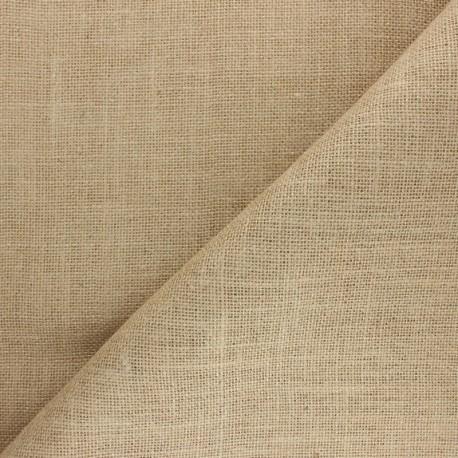 Yute fabric - light natural x 10cm