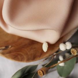 Tissu Tencel Atelier Brunette - Blush x 10cm