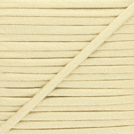 Frou-Frou Lurex Stitched Cord - Gold x 1m
